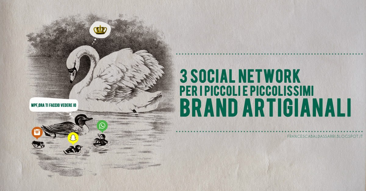 3 social per piccoli brand handmade