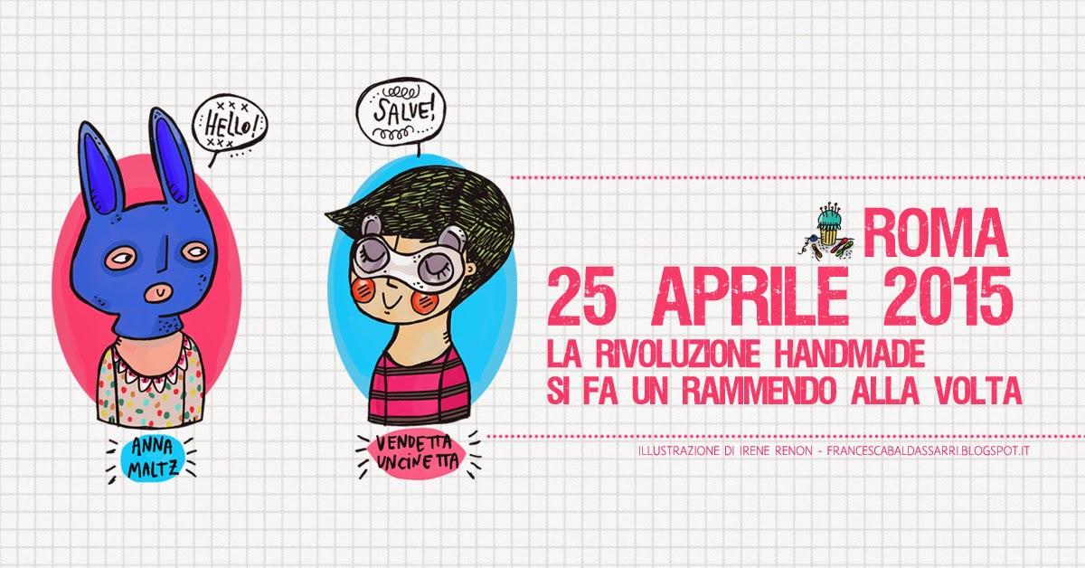 Il 25 aprile lo passerò a Roma, a rammendare