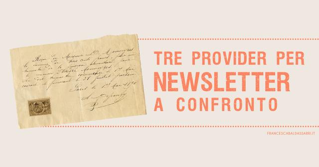 Creare una newsletter: quale provider usare?