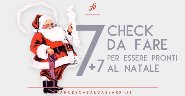 Checklist: sei pronta per il Natale?