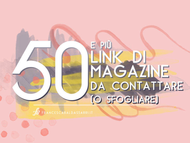 60 riviste di design arte e artigianato la mega lista for Riviste di design