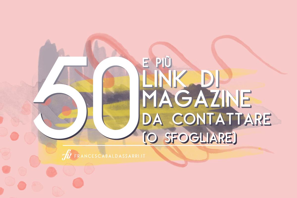 60+ Riviste di design, arte e artigianato: la mega lista