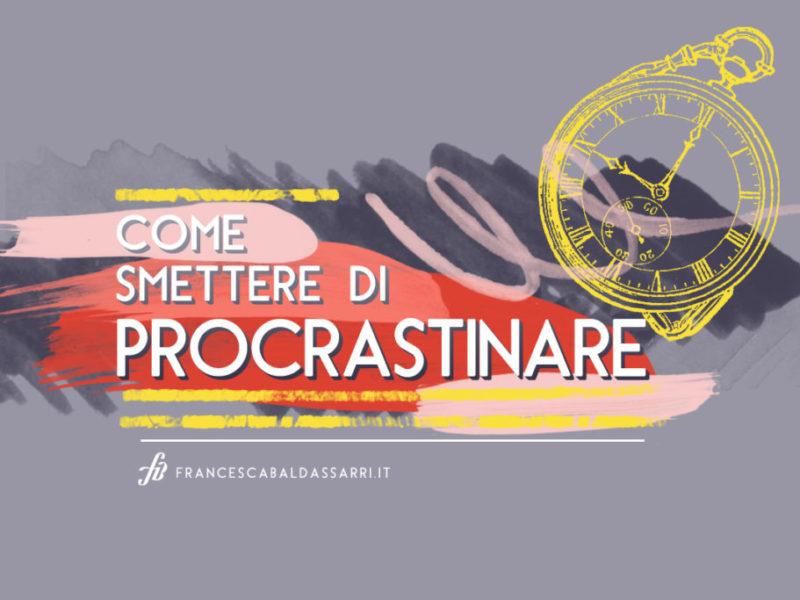 procrastinazione