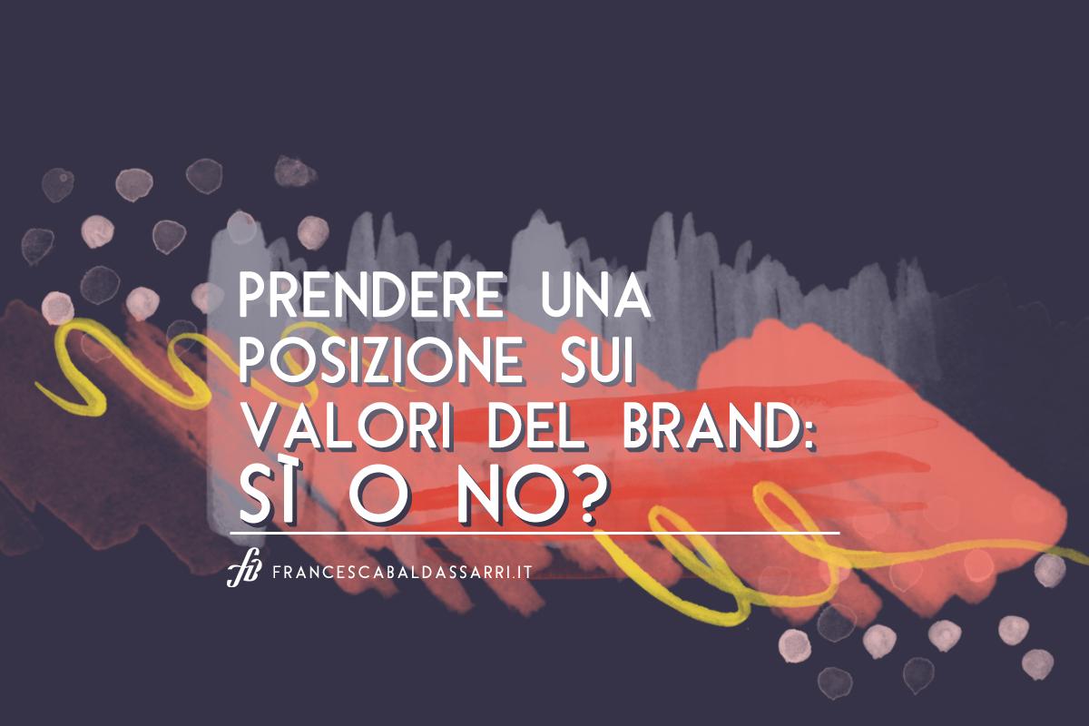 Valori del brand e pubblicità