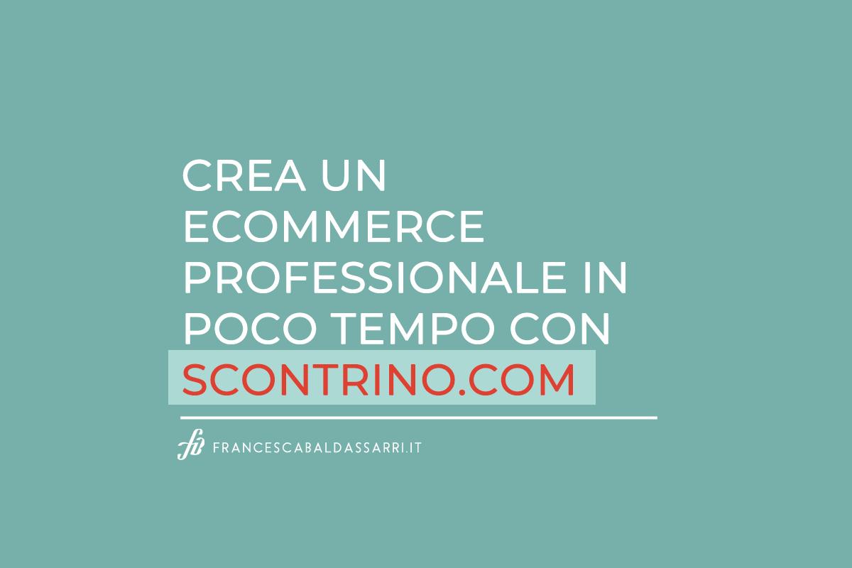 Ecommerce, artigianato e Scontrino.com